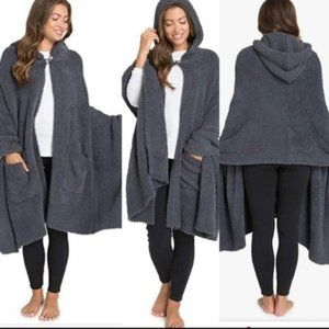 Barefoot Dreams Hooded Blanket Shawl